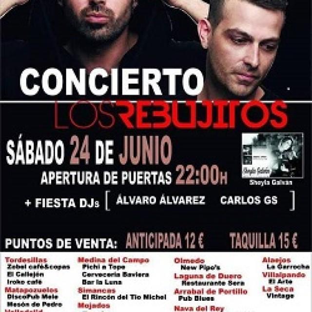El concierto de los Rebujitos  Tordesillas 2 junio 2017