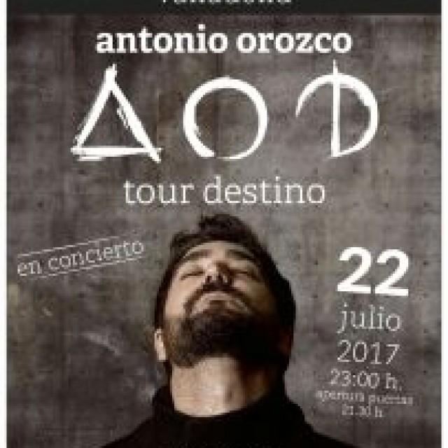 Antonio Orozco actuará en Tordesillas el próximo 22 de Julio