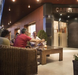 Cafetería mesas exteriores