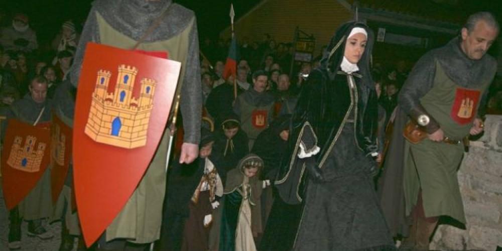 Llegada de la Reina Juana
