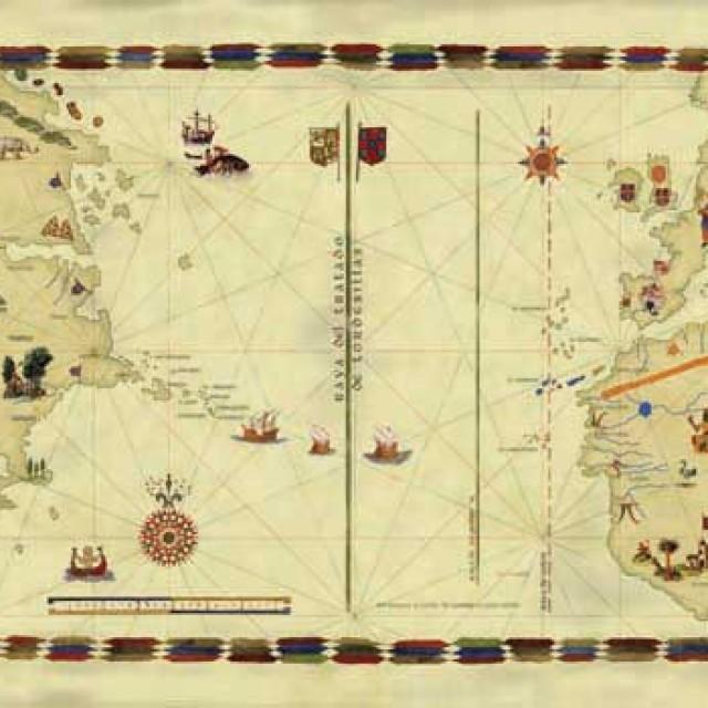 El Tratado de Tordesillas